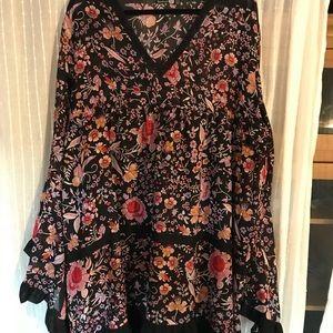 Boohoo size 18 floral dress